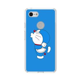 Doraemon Kissing Google Pixel 3 XL Clear Case