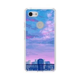 Sunset City Sky Google Pixel 3 XL Clear Case