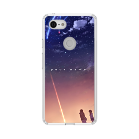 Your Name Poster Google Pixel 3 XL Clear Case