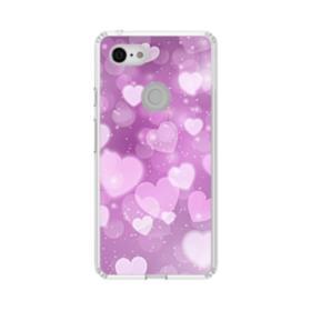 Aurora Hearts Google Pixel 3 XL Clear Case