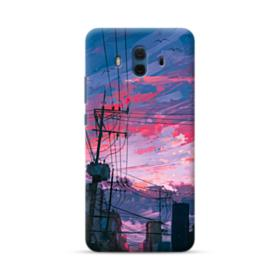 Sunset Houses Huawei Mate 10 Case