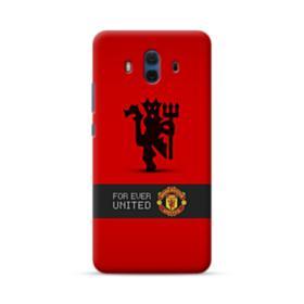 Manchester United Team Logo Red Devil Banner Huawei Mate 10 Case