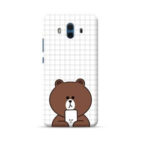 Brown Missing Cony Huawei Mate 10 Case