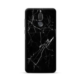 Black Marble White Veins Huawei Mate 10 Lite Case