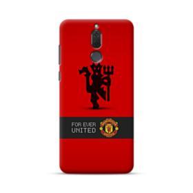 Manchester United Team Logo Red Devil Banner Huawei Mate 10 Lite Case