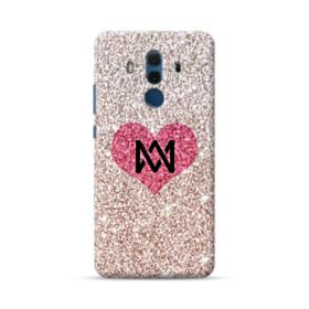 Heart Gold Glitter Huawei Mate 10 Pro Case