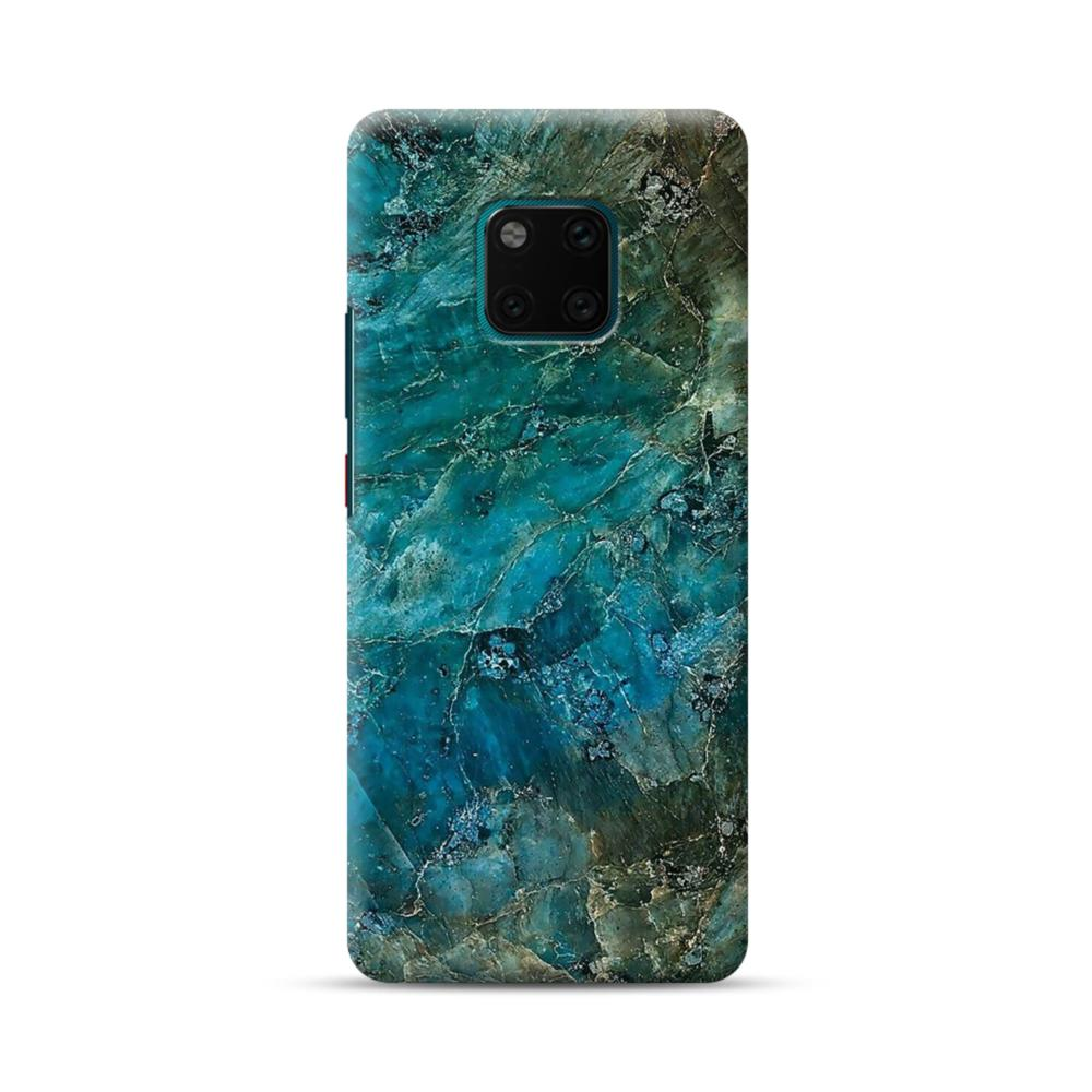 new product ed5ac fd2a2 Green Marble Huawei Mate 20 Pro Case