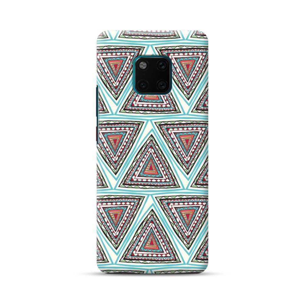low priced fa324 d40b6 Oriental Tribal Style Fabric Pattern Huawei Mate 20 Pro Case