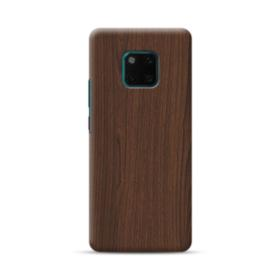 Dark Coffe Wood  Huawei Mate 20 Pro Case