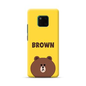Line Friends Brown Huawei Mate 20 Pro Case