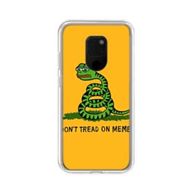 Pepe the frog don't tread on memes Huawei Mate 20 X Clear Case