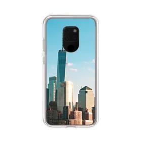 New York Skyline Huawei Mate 20 X Clear Case