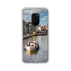 Amsterdam River View Huawei Mate 20 X Clear Case