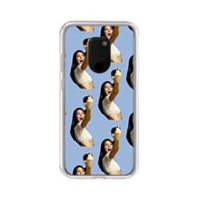 Kendall Jenner funny  Huawei Mate 20 X Clear Case