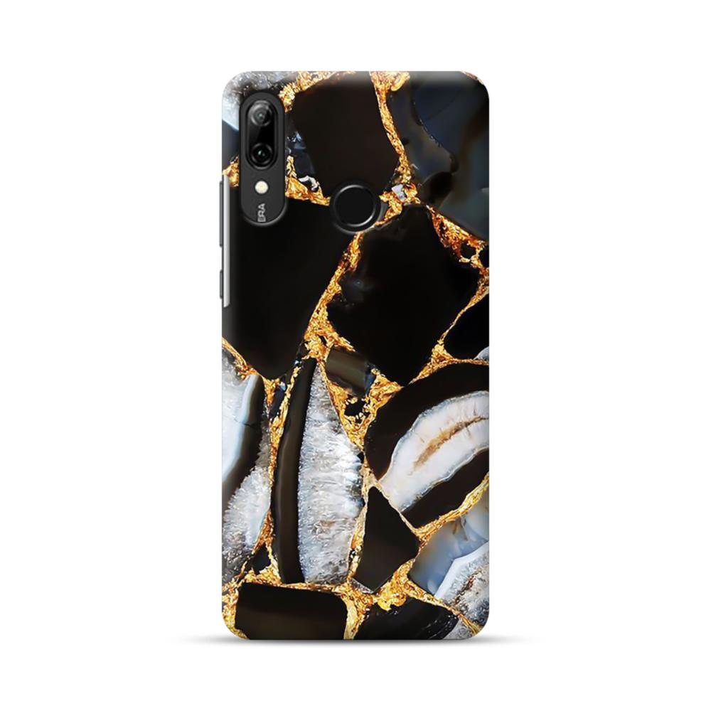 Gold White Marble Huawei P Smart 2019 Case