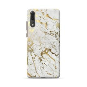 Gold Leaf Marble Huawei P20 Case