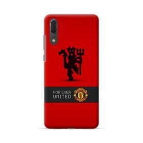 Manchester United Team Logo Red Devil Banner Huawei P20 Case