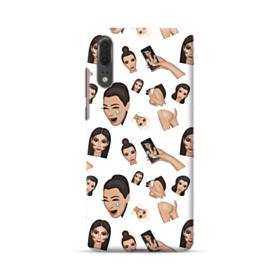 Kim Kardashian Emoji Kimoji seamless Huawei P20 Case