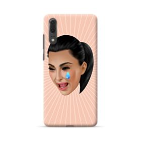 Crying Kim emoji kimoji Huawei P20 Case