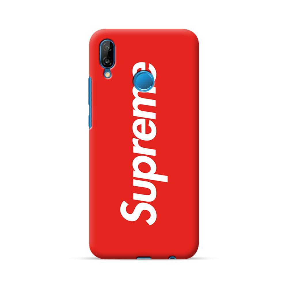 quality design f0291 e3eaf Supreme Red Huawei P20 Lite Case | CaseFormula