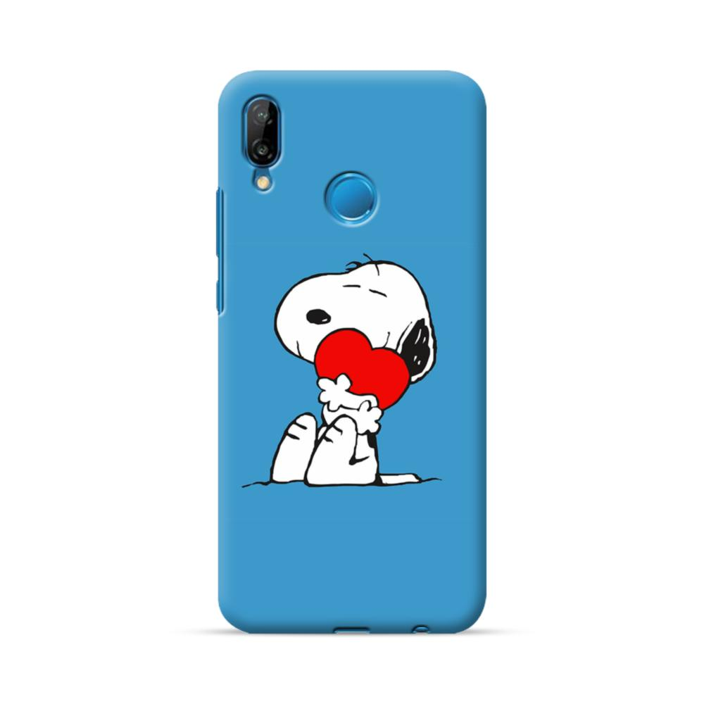 Snoopy Embracing Heart Huawei P20 Lite Case Caseformula