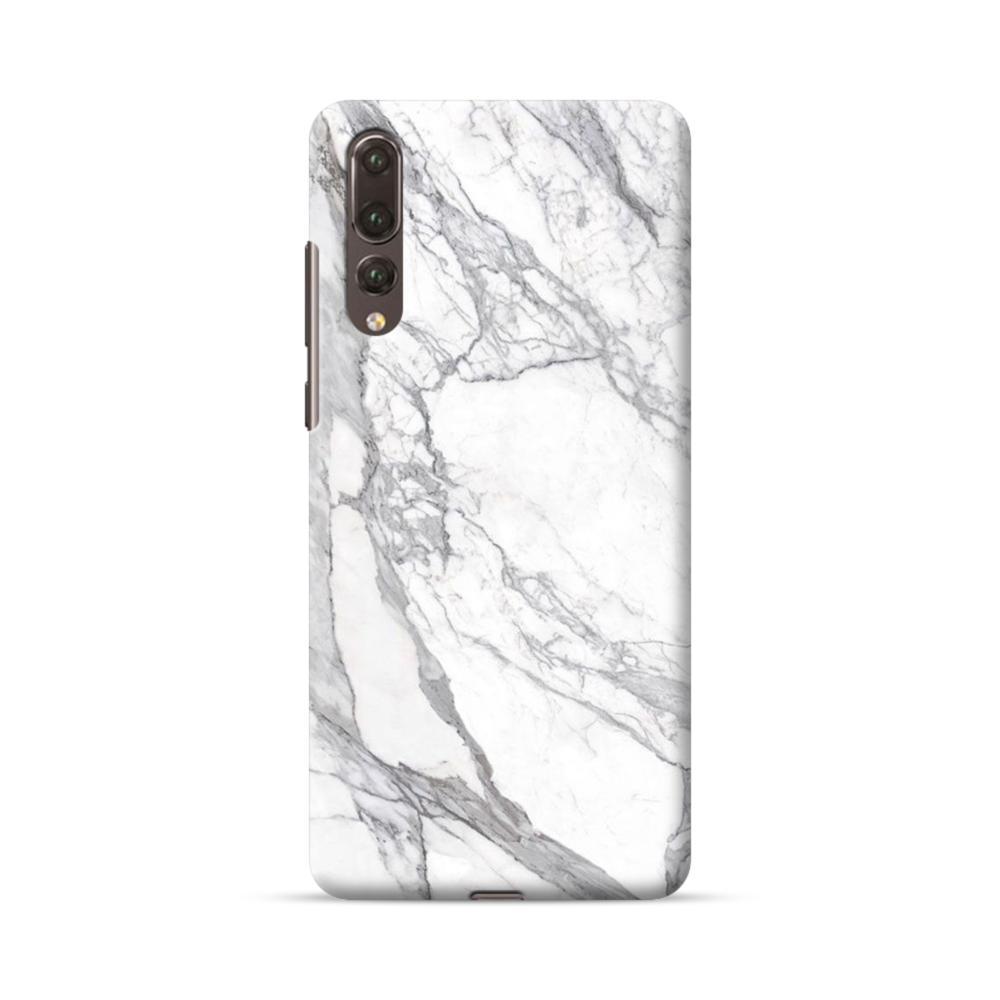 huge discount d8733 b689e White & Grey Marble Huawei P20 Pro Case