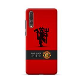 Manchester United Team Logo Red Devil Banner Huawei P20 Pro Case