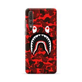 Bape Logo Red Camo Huawei P20 Pro Case