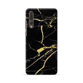 Gold Black Marble Huawei P20 Pro Case