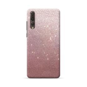 Rose Gold Glitter Huawei P20 Pro Case