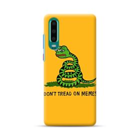 Pepe the frog don't tread on memes Huawei P30 Case