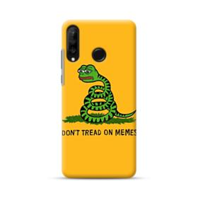 Pepe the frog don't tread on memes Huawei P30 Lite Case
