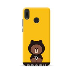 Line Friends Brown Give You Luck Huawei Y9 2019 Case