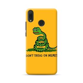 Pepe the frog don't tread on memes Huawei Y9 2019 Case