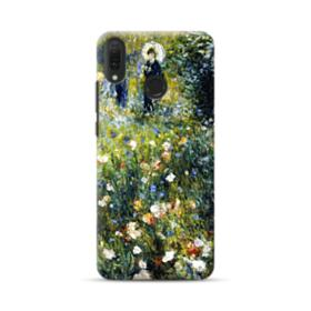 Woman with a Parasol in a Garden Huawei Y9 2019 Case