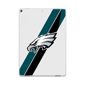 Philadelphia Eagles Team Logo Diagonal Stripes iPad Pro 10.5 (2017) Case