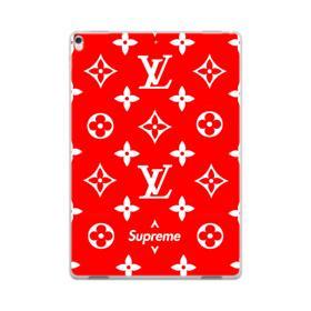 Classic Red Louis Vuitton Monogram x Supreme Logo iPad Pro 10.5 (2017) Case