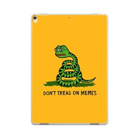 Pepe the frog don't tread on memes iPad Pro 10.5 (2017) Clear Case