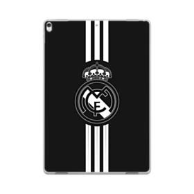 Real Madrid Team Logo Black White iPad Pro 10.5 (2017) Clear Case