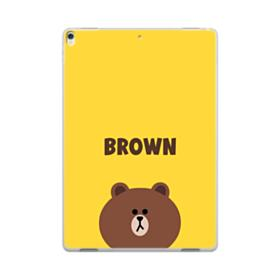 Line Friends Brown iPad Pro 10.5 (2017) Clear Case