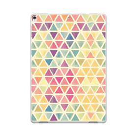 Watercolor Triangles iPad Pro 10.5 (2017) Clear Case