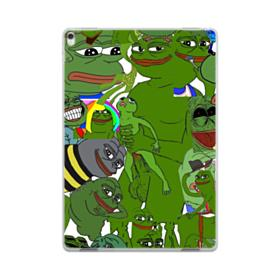 Rare pepe the frog seamless iPad Pro 10.5 (2017) Clear Case