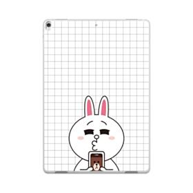 Line Friends Cony in Love iPad Pro 10.5 (2017) Clear Case