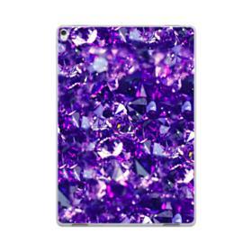 Purple Diamond Glitter iPad Pro 10.5 (2017) Clear Case
