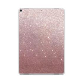 Rose Gold Glitter iPad Pro 10.5 (2017) Clear Case