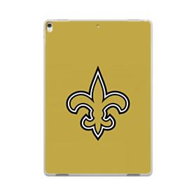 New Orleans Saints Team Logo Old Gold iPad Pro 10.5 (2017) Clear Case