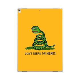 Pepe the frog don't tread on memes iPad Pro 12.9 (2017) Case