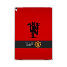 Manchester United Team Logo Red Devil Banner iPad Pro 12.9 (2017) Case