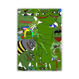 Rare pepe the frog seamless iPad Pro 12.9 (2017) Case