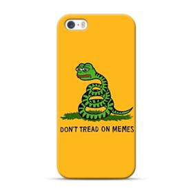 Pepe the frog don't tread on memes iPhone 5S, 5 Case